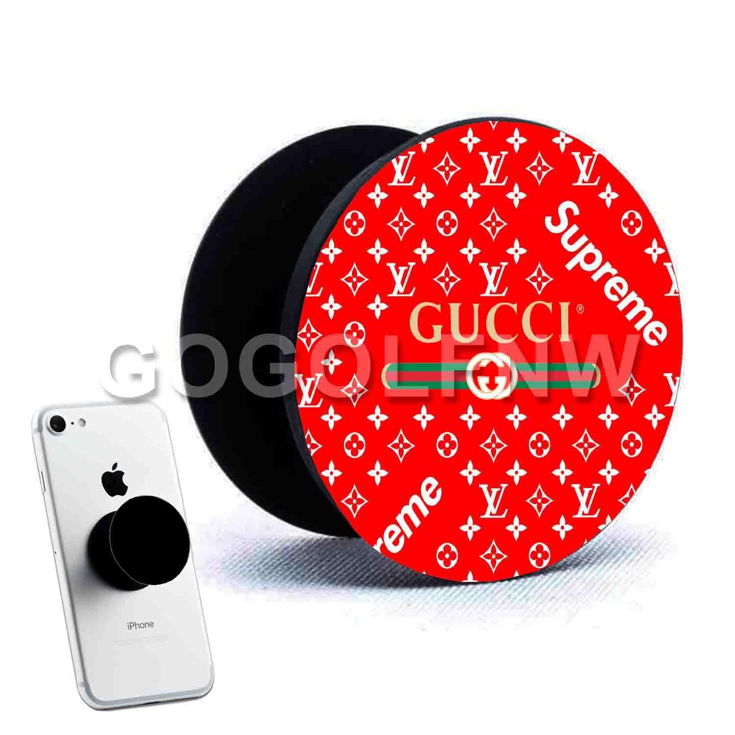 eb2f9b0a6ef47 Gucci Supreme Louis Vuitton Phone Pop Out Stand Grip Up
