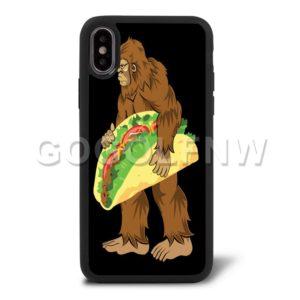 bigfoot taco phone case
