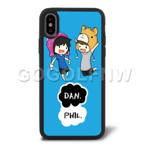 dan and phil phone case