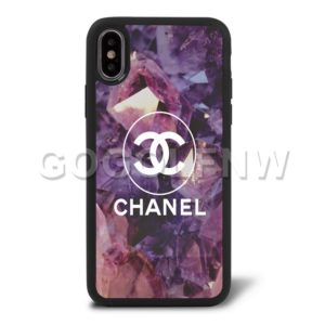 diamond chanel phone case
