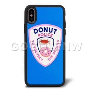 donut police phone case