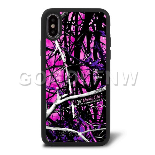 muddy girl cell phone case