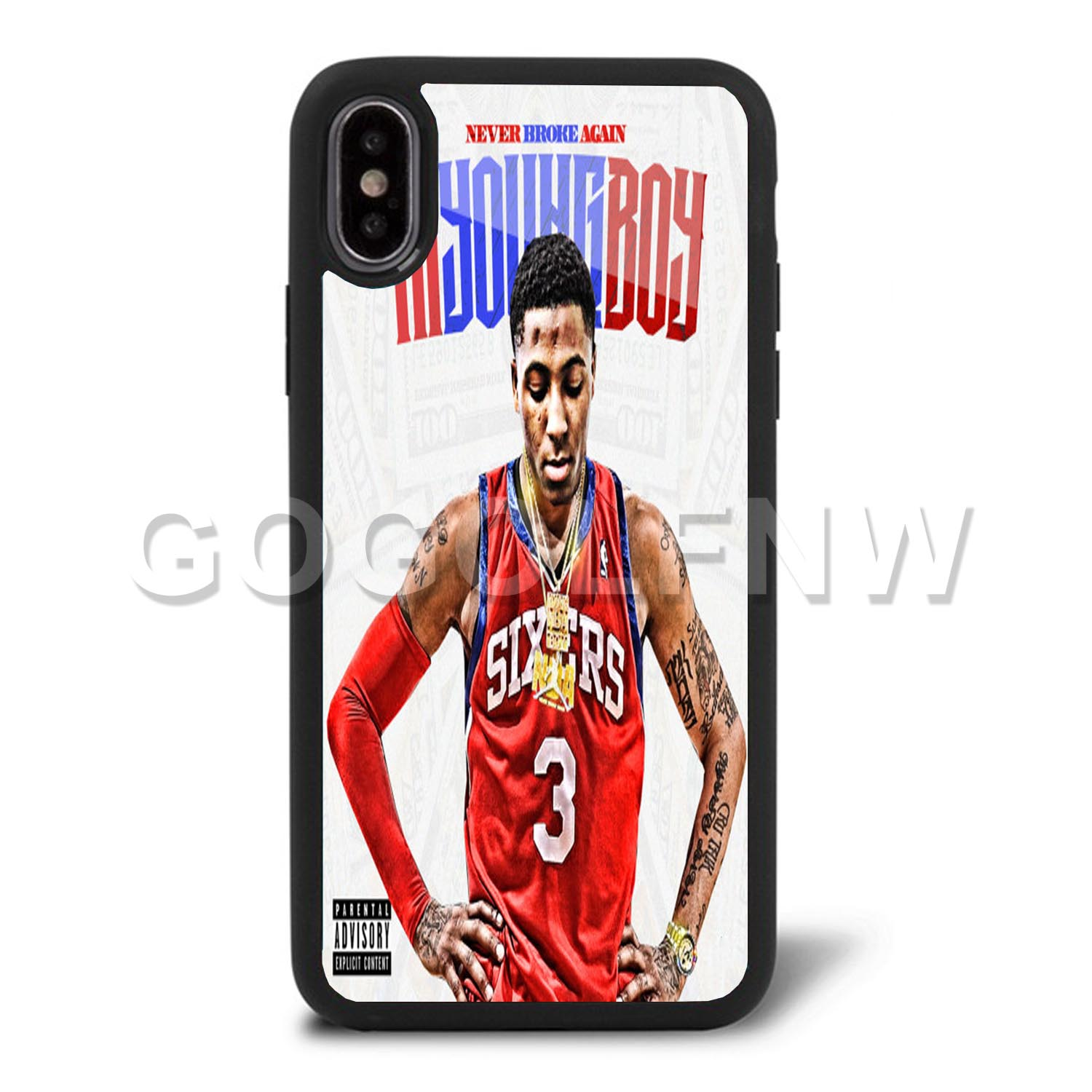 brand new a9f84 672a8 NBA youngboy Phone Case