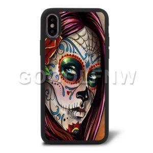 sugar skull phone case