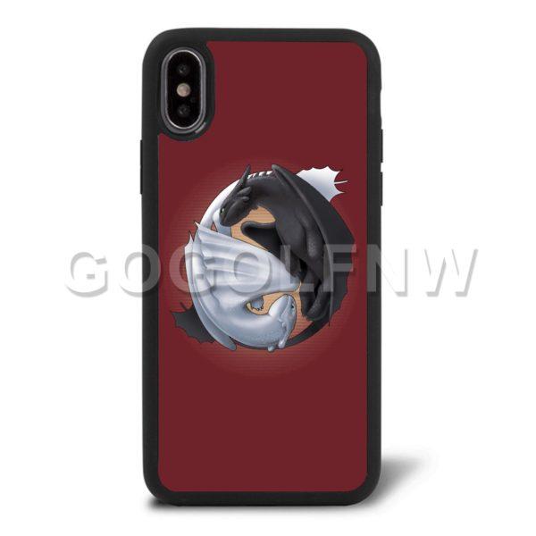 toothless yin yang phone case