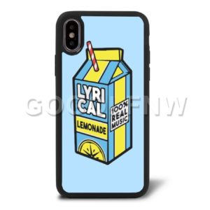 lyrical lemonade iphone case