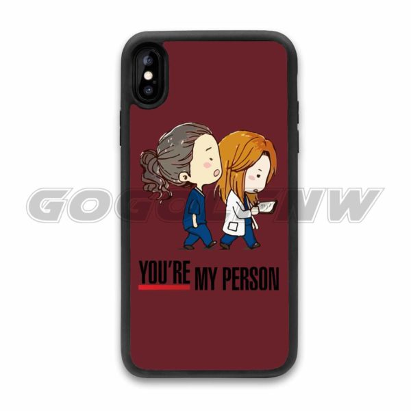 greys anatomy you re my person phone case