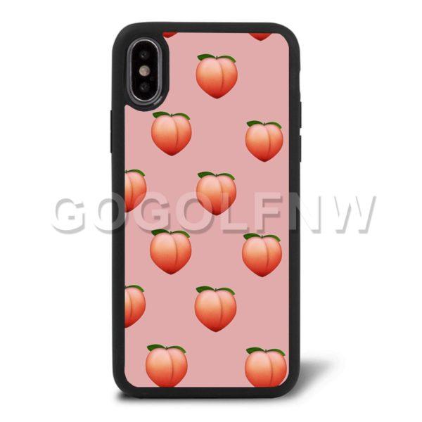 Peach Emoji Phone Case
