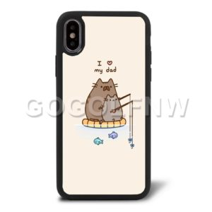 pusheen cat phone case