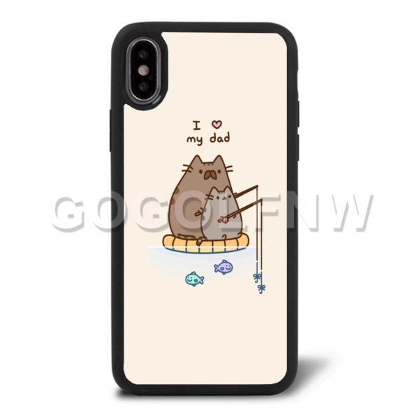pusheen cat phone case