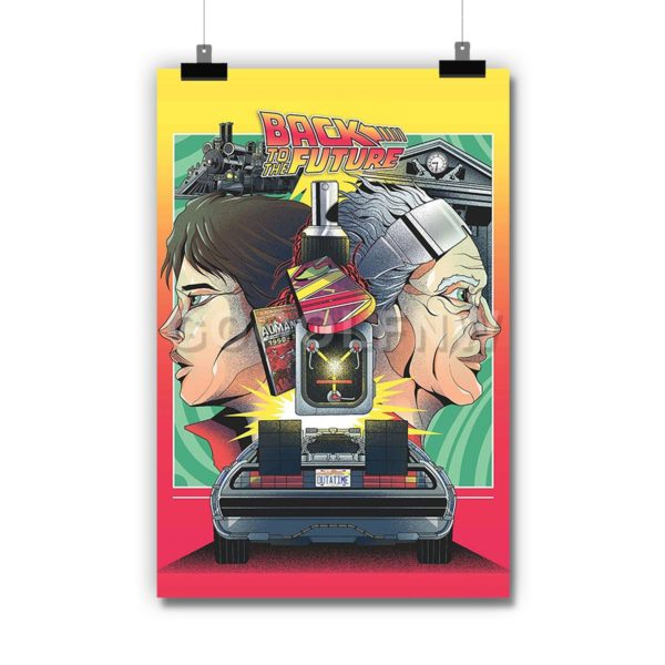 Back to the Future Poster Print Art Wall Decor