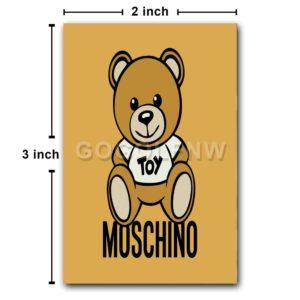 Moschino Bear Toy Fridge Magnet Refrigerator