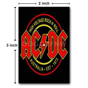 ACDC High Voltage Fridge Magnet Refrigerator
