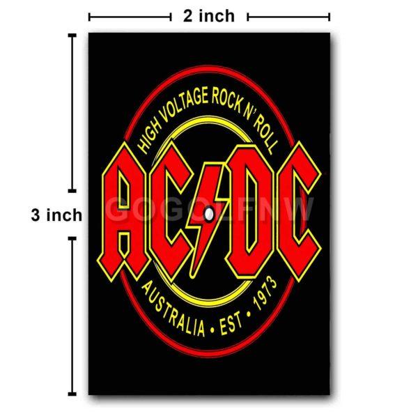 ACDC High Voltage Fridge Magnet Refrigerator