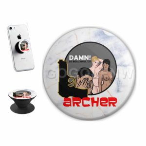 Archer Sticker for PopSockets