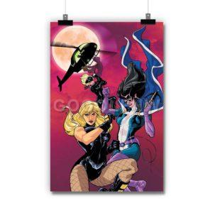 Birds of Prey DC Comics Poster Print Art Wall Decor