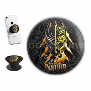 Black Panther Two Face Sticker for PopSockets