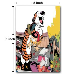 Calvin and Hobbes Fridge Magnet Refrigerator