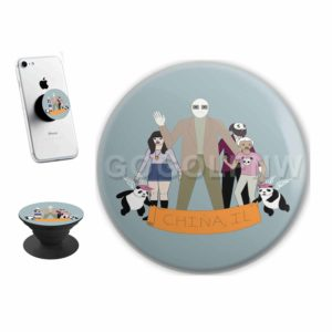 China IL Sticker for PopSockets