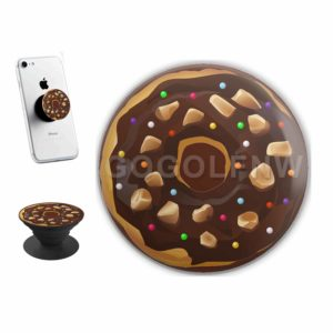 Chocolate Donut Sticker for PopSockets