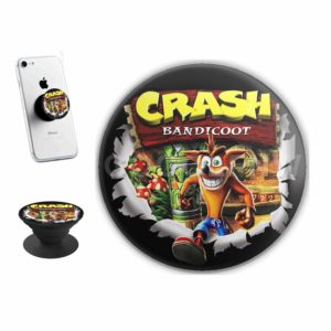 Crash Bandicoot Sticker for PopSockets