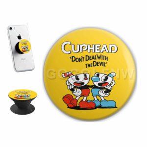 Cuphead Sticker for PopSockets