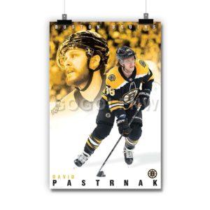 David Pastrnák Boston Bruins NHL Poster Print Art Wall Decor