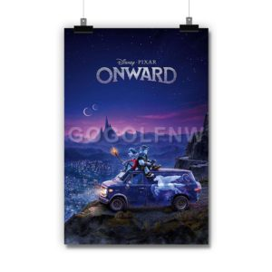 Disney Pixar Onward Poster Print Art Wall Decor