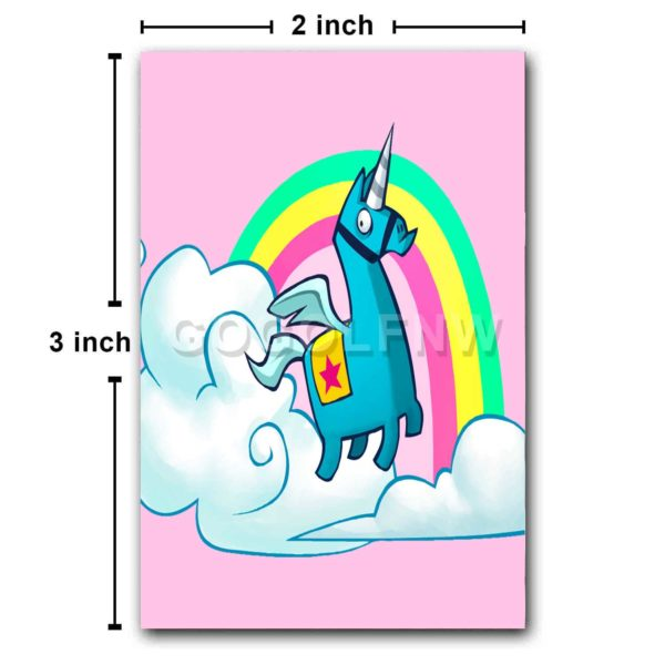 Fortnite Unicorn Fridge Magnet Refrigerator