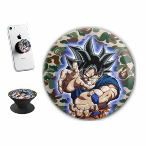Goku Ultra Instinct Bape Sticker for PopSockets