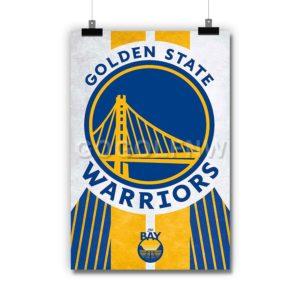 Golden State Warriors NBA Poster Print Art Wall Decor