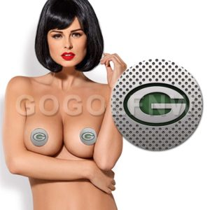 Green Bay Packers NFL Pasties Nipple Cover