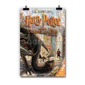 Harry Potter and the Goblet of Fire Poster Print Art Wall Decor