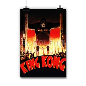 King Kong 1933 Poster Print Art Wall Decor