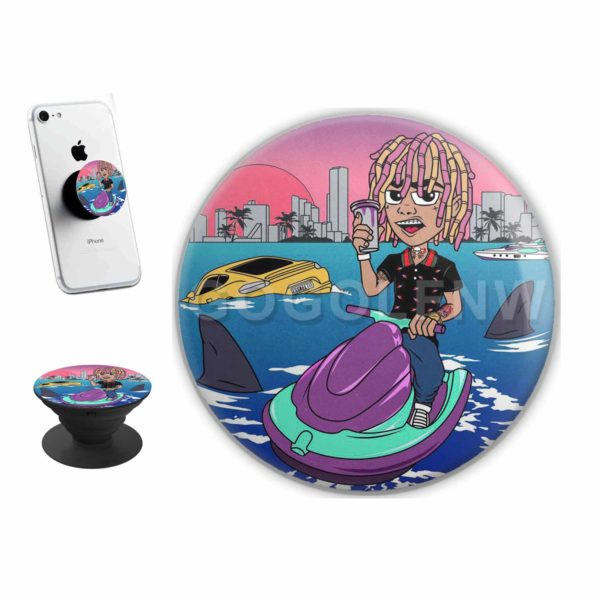 Lil Pump Boat Sticker for PopSockets