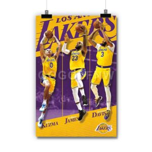 Los Angeles Lakers NBA Poster Print Art Wall Decor