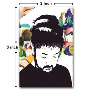 Nujabes Japanese Rapper Fridge Magnet Refrigerator