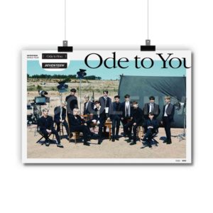 SEVENTEEN ODE TO YOU Poster Print Art Wall Decor