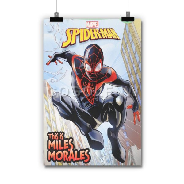 Spider-Man This Is Miles Morales Poster Print Art Wall Decor