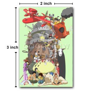 Studio Ghibli Fridge Magnet Refrigerator