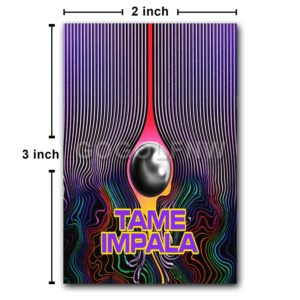 Tame Impala Fridge Magnet Refrigerator