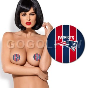New England Patriots NFL Pasties Nipple Cover