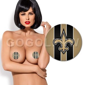 New Orleans Saints NFL Pasties Nipple Cover