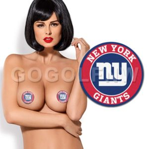 New York Giants NFL Pasties Nipple Cover