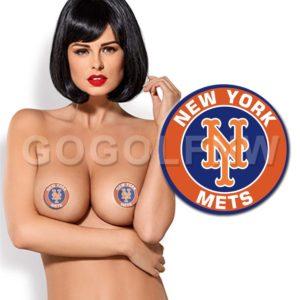 New York Mets MLB Pasties Nipple Cover