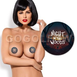 Night in The Woods Pasties Nipple Cover