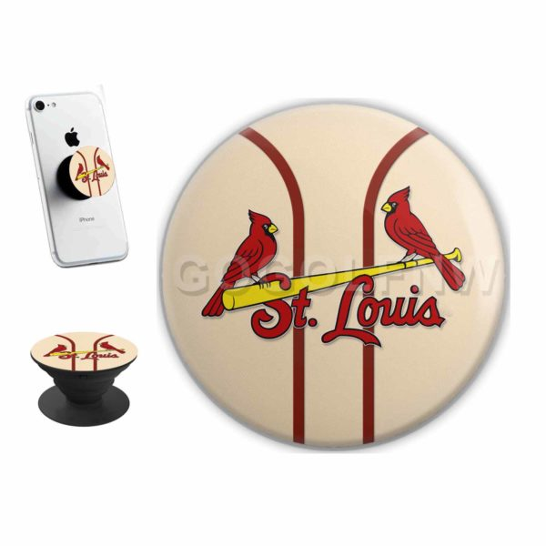 St Louis Cardinals MLB Sticker for PopSockets