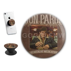 Jon Pardi Heartache Medication Sticker for PopSockets