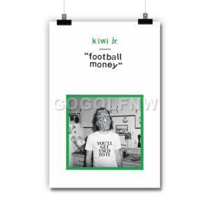 Kiwi Jr. Football Money Poster Print Art Wall Decor