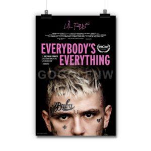 Lil Peep Everybodys Everything Poster Print Art Wall Decor